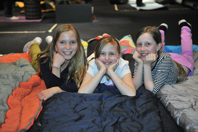 Action from the Royal Opera House Education Sleepover © Brian Slater/ROH 2012