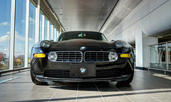 BMW Z8 E52 (mschroeter140) Tags: canada ex car bayern deutschland bavaria dc nikon edmonton suspension over engine fast twin sigma mini os turbo german alberta showroom bmw coil coupe f28 hdr v8 motorshow kw deutsch motorsport dinan z8 hsm e52 1750mm adv1 worldcars d7000