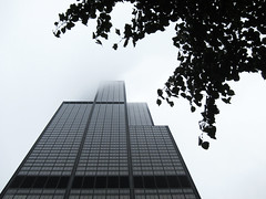 Chicago-Willis Tower, winter (George Baritakis) Tags: