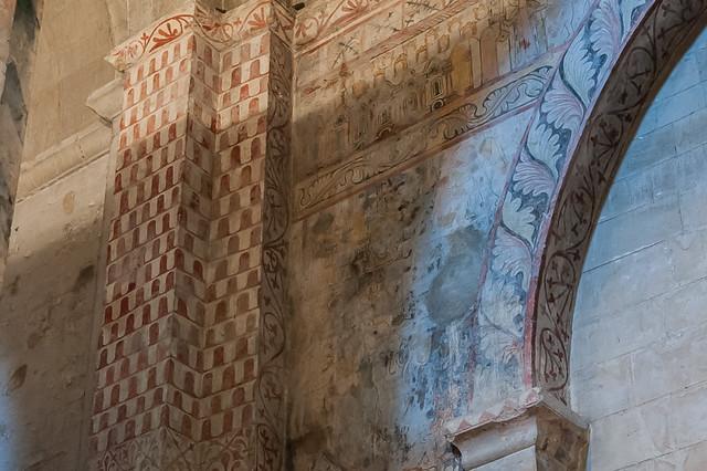 france architecture provence fresco fresque drôme rhônealpes artroman architecturereligieuse tricastin drômeprovençale saintpaultroischâteaux romanprovençal cathédralenotredamedesaintpaultroischâteaux