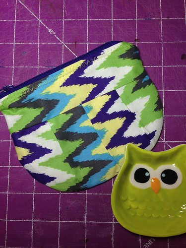 Some new #pleated #pouches . New #fabrics !  #zippered