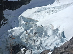 The ice cliff (Laurel Fan) Tags: climbing mtstuart