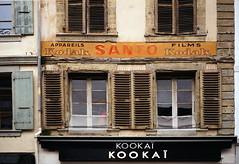 old , vintage publicity Kodak-Morges (OLDLENS24) Tags: old building wall facade advertising ancient paint peinture mur publicité voigtländer immeuble vieille ancien frontage