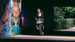 #057/365 - Graffiti (sylvia@flikkert) Tags: graffiti nederland thenetherlands tunnel zoetermeer 365 brug fiets fietser boerhavepad