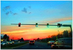 IMG_7254_Sunset_Highway_VA2016 (Stephenie DeKouadio) Tags: canon photography outdoor sunset painting virginia highway art artistic color colour colorful dusk sky
