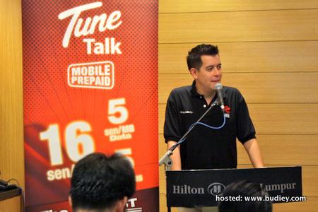 Mr Jason Lo CEO of Tune Talk