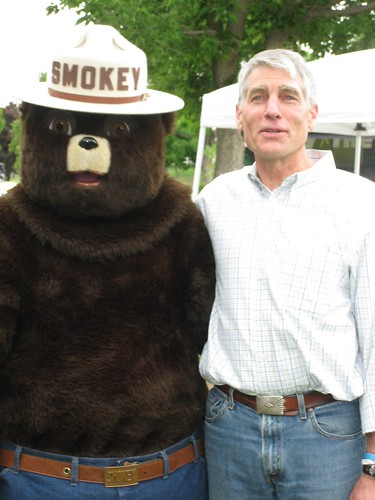 Inside the Smokey Bear Costume For a Day