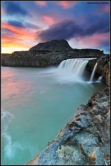 Saturate... (Ji Gunnar) Tags: sunset water landscape iceland nikon long exposure wideangle tokina lee nikkor sland ndgrad