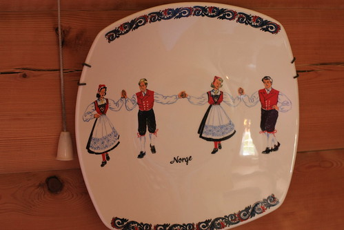 Old Figgjo plate