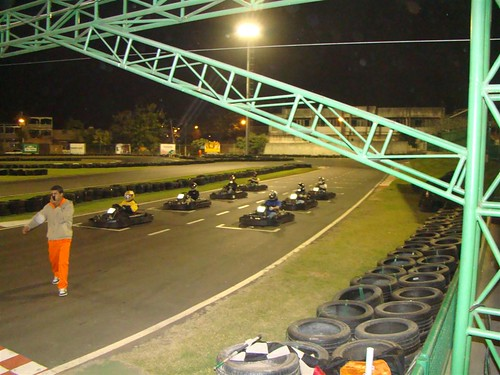 Mirantes Mototravel Weekend Trip: Start of the karting race