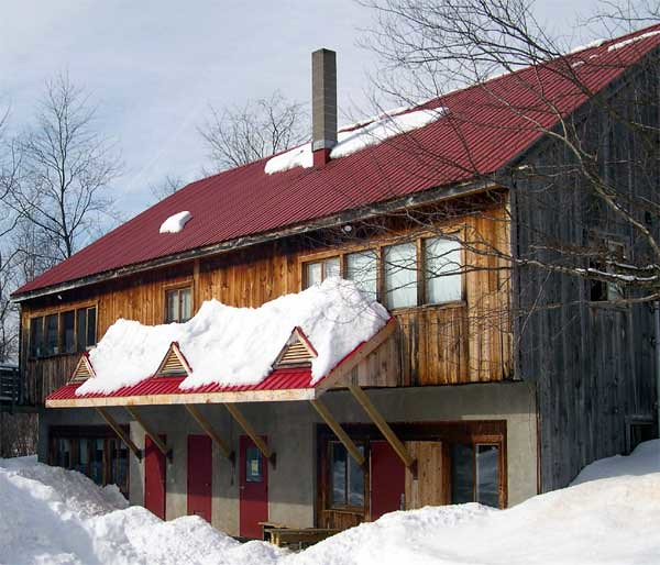 Woodard in Winter (back view)
