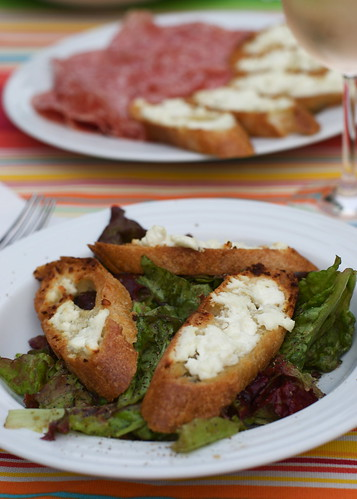 French Goat Cheese Salad