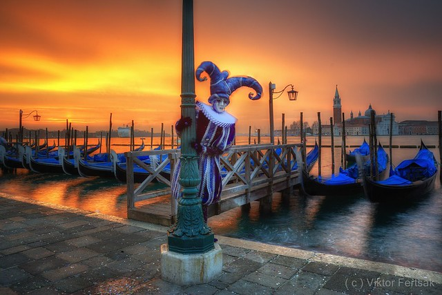 Carneval – morning in Venice  2011