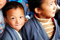 kids in Bhutan (by: laihiuyeung ryanne, creative commons license)