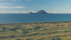 Whale Island (blue polaris) Tags: new travel sea white landscape island volcano bay coast scenery north aerial zealand nz whale plenty
