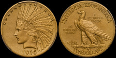 1914 $10.00 PCGS PR65 CAC (RareGoldCoins.com) Tags: eagle proof 1000 matte goldcoin notforsale goldeagle rarecoin raregoldcoin douglaswinternumismatics wwwraregoldcoinscom 1000gold proofgold matteproof