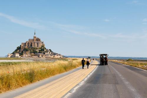 Vers le Mont Saint-Michel