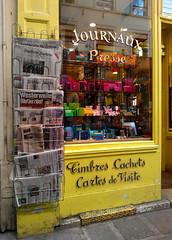 Paris 2014 (Hanoi1933) Tags: paris france magasin streetphotography boutique storefront rue vitrine parigi 2014 devanture  parisstreetart   pariswallart