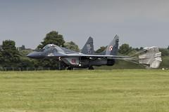 Mikoyan-Gurevich MiG-29A - 17 (NickJ 1972) Tags: raf fairford riat royalinternationalairtattoo airshow 2016 aviation mikoyan gurevich mig29 fulcrum 108