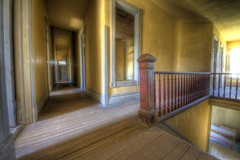 Permanent Vacancy (LoneWolfMontana) Tags: old west history architecture canon town montana angle ghost wide sigma eerie spooky ultra hdr bannack 60d 816mm