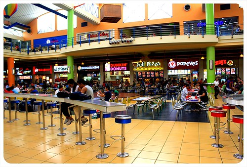 Panama City Mall food court