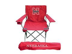 Nebraska Huskers TailGate Folding Camping Chair