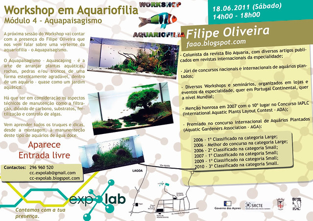 Workshop 18 de Junho ExpoLab Ponta Delgada (S. Miguel - Açores)