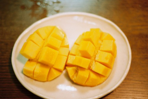 マンゴーの切り方 その弐 How to cut mango take 2 by *dapple dapple