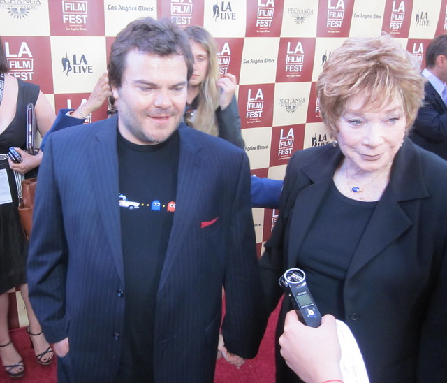Jack Black, Shirley MacLaine, LA Film Festival Opening Night 2011
