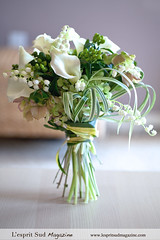 Summer white bridal bouquet (L'esprit Sud Magazine) Tags: flowers wedding summer white lilyofthevalley bridalbouquet weddingbouquet weddingflower thestylishbloom