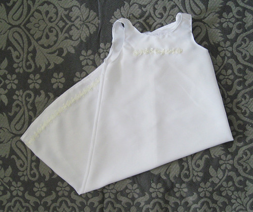Isaac's christening gown