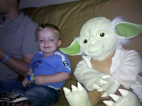 Cosmo and Yoda :-) by drwhogrl
