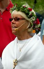 The ringleader (bokage) Tags: dance midsummer sweden celebrations täby