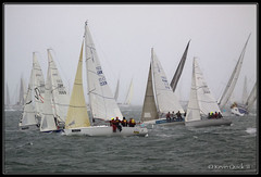 Round the Island Race 2011 (leightonian) Tags: uk island boat sailing unitedkingdom yacht isleofwight solent gb isle cowes wight iow roundtheislandrace bluesail