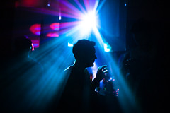 Subclub Silhouette (TGKW) Tags: light boy portrait people man silhouette night glasgow candid drinking nightclub alcohol booze dancefloor nightlife 2824 subclub