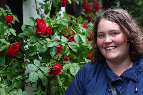 Josefin och rosor