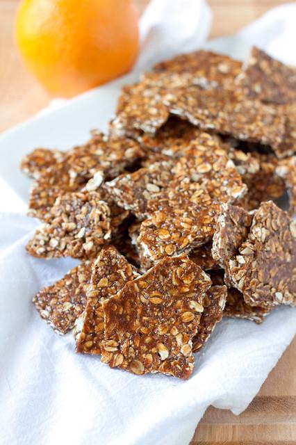 Maple Granola Brittle