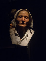 Face of a 17th century cook