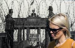 Through the past. Berlin. (Riccardo Nobile Photos ) Tags: world white black color berlin print nikon war ngc da blonde second nikkor past fare berlino d600 brandeburgo
