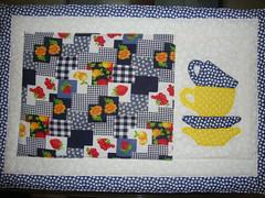 Jogo americano (Rosy M) Tags: patchwork jogo americano bordado