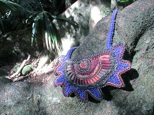 Prudence Mapstone - freeform crochet neckpiece