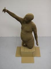 A_IMG_7084 (studioforcreativeinquiry) Tags: sculpture male cardboard layers torso selfie lasercut maletorso 3dscan bodyscan digitalfabrication kinect jonathanarmistead