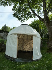 "Mini yurt • <a style=""font-size:0.8em;"" href=""http://www.flickr.com/photos/61957374@N08/14280730434/"" target=""_blank"">View on Flickr</a>"