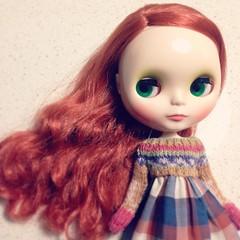her hair #blythe (a_fline) Tags: square nashville squareformat iphoneography instagramapp uploaded:by=instagram