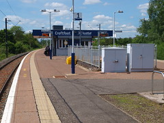 Croftfoot - 06-06-2014 (agcthoms) Tags: station scotland glasgow trains scotrail railways croftfoot