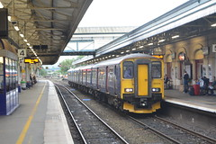 150216 Exeter St Davids 04/09/16 (yamdood91) Tags: firstgreatwestern fgw 2016 exeterstdavids 150216 class150