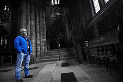 Inside Glasgow cathedral (21) (dddoc1965) Tags: dddoc davidcameronpaisleyphotographer glasgow cathedral necropolis landmark scotland october 7th 2016 cloudy precinct autumn yellow trees windows ceiling stone arcitech flags kenny game thrones reid