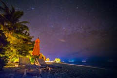 Make a Wish (icemanphotos) Tags: holiday seascape travel sky solitude loungers sunbed