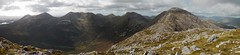 The Glencoaghan horseshoe: climbing Derryclare (Binn Dhoire Chlair) (Mumbles Head) Tags: ireland eire connemara mayo glencoaghan gleannchochan mountains horseshoe thetwelvebens twelvepins