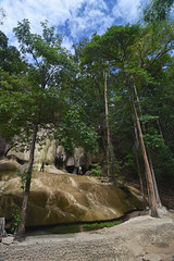 Sai Yok Noi Waterfall (scuba_dooba) Tags: world memorial river burma museum ii thailand war kwai death kanchanaburi second railway กาญจนบุรี sai yok noi waterfall ราชอาณาจักรไทย ประเทศไทย siam สยาม